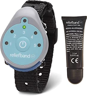 ReliefBand 1.5 Motion Sickness Wristband - Easy-to-Use, Fast, Drug-Free Nausea Relief Band Helps with Morning Sickness, Nausea, Sea Sickness, Retching, Vomiting
