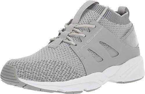 Propet Men's Stability Strider Walking zapatos, gris, 10.5 5E US