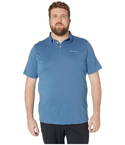 Columbia Big Tall Thistletown Ridgetm Polo (Impulse Blue) Men