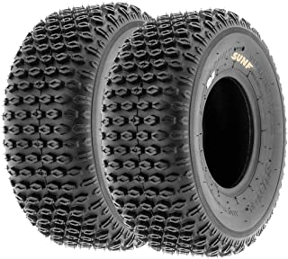 Set of 2 20x8.00-10 21x7.00-10 Inner Tube with TR13 Straight Valve Stem Replacement for 250-400cc Trail Off-Road Chinese ATV Quad