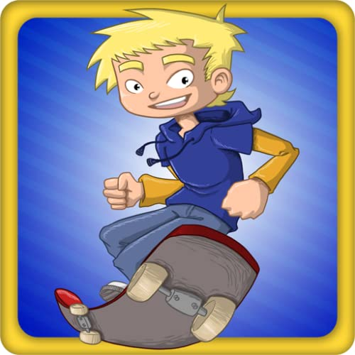 Jumpy Skater - Skateboard -Spiel