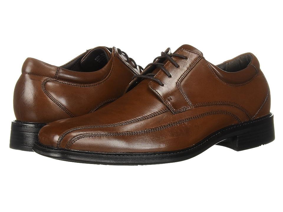 Dockers Endow Bike Toe Oxford (Tan Burnished Leather) Men