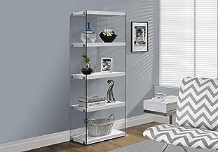 Best 5 shelf glass bookcase Reviews