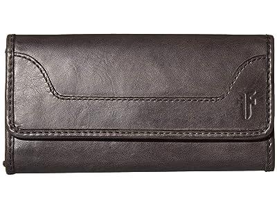 Frye Melissa Wallet (Carbon) Wallet Handbags