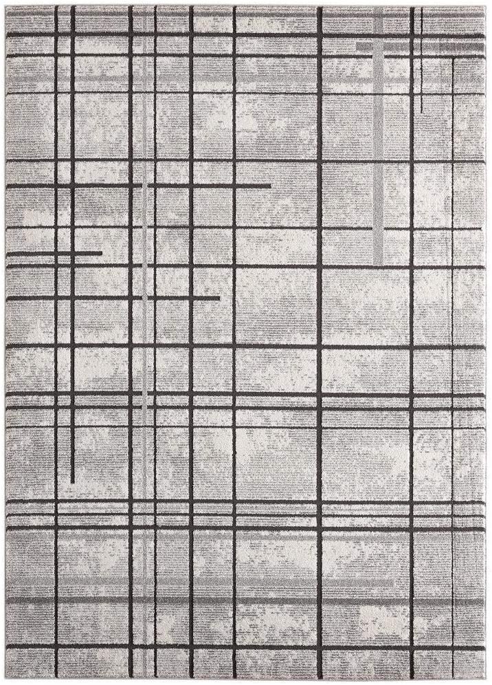 5% OFF Luxe Weavers Serena Abstract 5x7 Rug Free shipping / New Gray Area