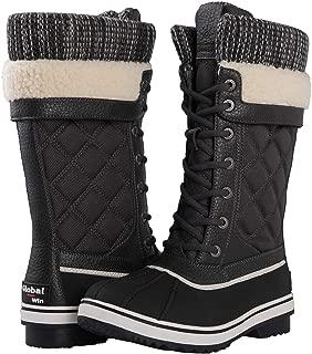 GLOBALWIN Women's 1932 Mid Calf Winter Snow Boots