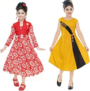 Girls' Dresses priced Under ₹500: Buy Girls' Dresses priced