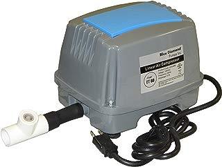 Blue Diamond ET60 Septic Linear Air Pump w/Back Pressure Safety Valve (Maximizes Aerator Service Life)