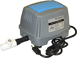 Blue Diamond ET60 Septic Linear Air Pump w/Back Pressure Safety Valve (Maximizes Aerator Service Life)
