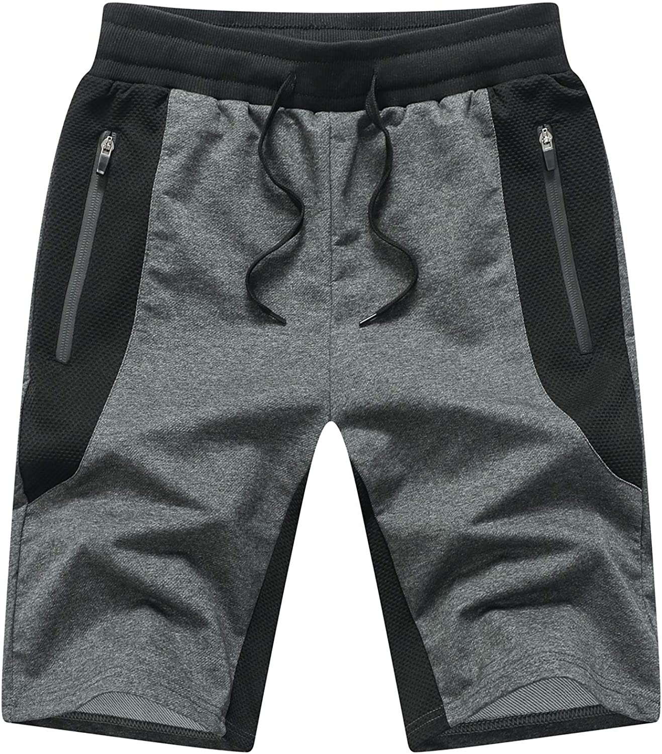 Max 70% OFF Tansozer Great interest Mens Athletic Shorts Zip Pockets with