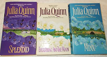 Julia Quinn: Avon Historical Romance: 3 Book Set: Softcover: Everything and the Moon: Minx: Splendid: Very Good