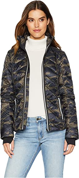 Puffer with Reflective Jacket