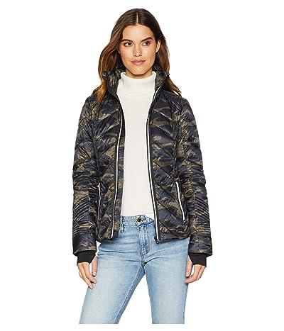 Blanc Noir Puffer with Reflective Jacket (Camo) Women