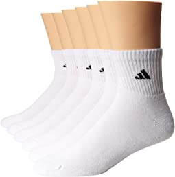 adidas - Athletic 6-Pack Quarter Socks