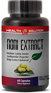 Noni Natural - NONI 8:1 Concentrate 500MG - Improve Digestion (1 Bottle)