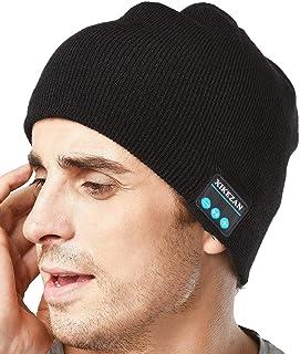 67bb907a1b1 XIKEZAN Unisex Bluetooth Beanie Winter Knit Hat V4.1 Wireless Musical  Headphones Earphones w