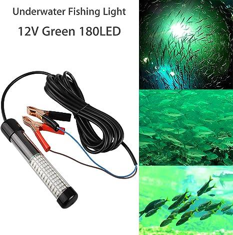 12V 14W 180 LED Submersible Fishing Light