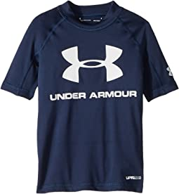 Under Armour Kids - UA Comp Short Sleeve Rashguard (Toddler)