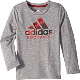 Long Sleeve Sport Fill Bos Tee (Toddler/Little Kids)
