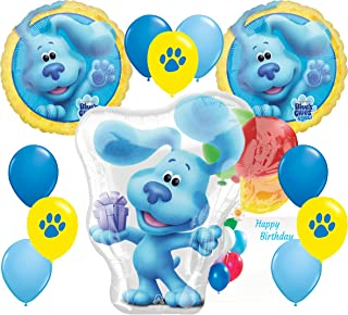 Blues Clues Party Supplies Birthday Big Balloon Character Decoration Bundle