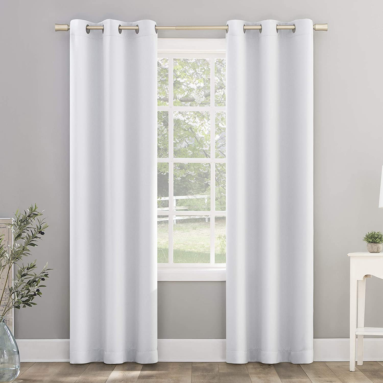 Sun Zero Riley Kids Bedroom Blackout Grommet Curtain Panel, 40