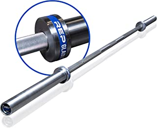 Rep Fitness Gladiator Olympic Bar - 1500 lb Rated with Needle Bearing Rotation - Elite Barbell for Cross-Training, Olympic Weightlifting, and Power Lifting