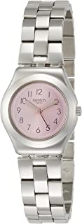 Swatch Women's Silver Dial Stainless Steel Band Watch - YSS310G