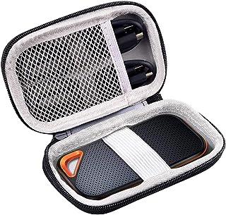 Hard Case Compatible for SanDisk 500GB/250GB/1TB/2TB Extreme Portable SSD - SDSSDE60-500G-G25 black Sandisk Pro