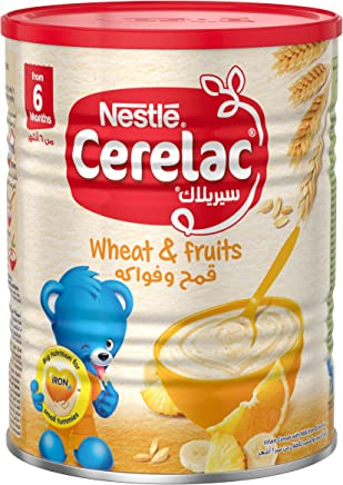 Nestle Cerelac Infant Cereal Wheat & Fruits 400g Tin