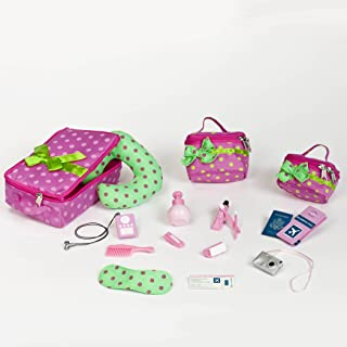 Our Generation Pegged Accessory - Luggage & Travel Set