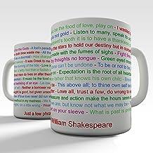 William Shakespeare Phrase Novelty Mug Tea Coffee Gift Office Cup