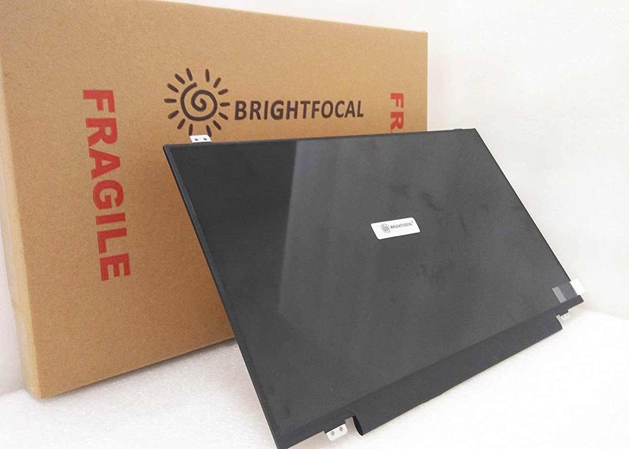 BRIGHTFOCAL New Screen for HP Notebook TPN-W121 17.3 Non-Touch HD+ WXGA+ Slim LED Screen Replacement LCD Screen Display
