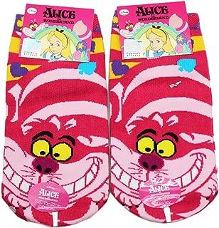 Alice in Wonderland Cheshire Cat Themed Socks (1 Pair Size 15-22cm)