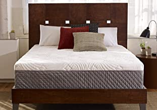 Sleep Innovations Shiloh 12-inch Memory Foam Mattress, Bed in a Box, Quilted Cover, Made in The USA, 10-Year Warranty - Ca...