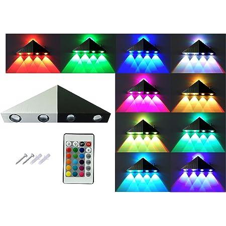 3W RGB LED Deckenleuchte Wandleuchte Flur Veranda Creative Indoor