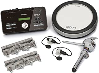 Yamaha DTX Hybrid Electronic Drum Pack with DTX502 Module, XP80 3-Zone Silicone Drum Pad, Triggers and Mounts