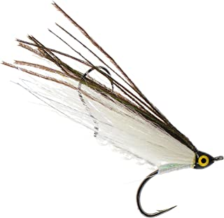 PEETZ Whitefish 4-Inch Pro Grade McFly Fly Fishing Lure | Deceiver Streamer Bucktail Clouser Wet Freshwater Saltwater | Pike Bass Perch Walleye Salmon Trout Dorado Tarpin Bonefish