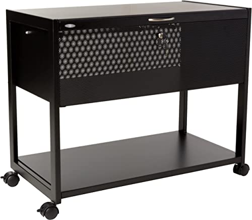 high quality Safco Products Locking Mobile Letter/Legal File Cart 5353BL, online sale Black, lowest Letter and Legal Files, Locking Top, Swivel Wheels outlet sale