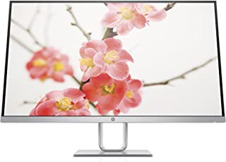 HP Pavilion 27q 27-inch QHD 2k 1440p IPS LED Monitor with AMD FreeSync Support, 100% sRGB, and VESA Mounting Bracket (1HR73AA#ABA) - Silver