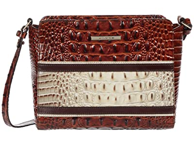 Brahmin Carlsen Carrie Crossbody (Savino) Handbags
