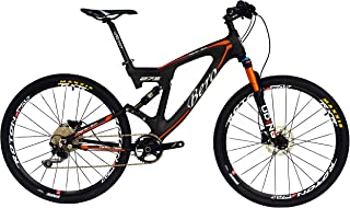 BEIOU Carbon Dual Suspension Mountain Bicycles All Terrain 26