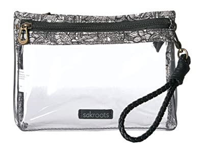 Sakroots Festival Campus Mini (Clear) Cross Body Handbags