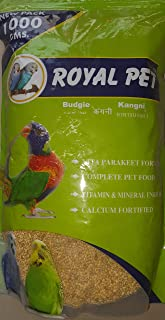 Royal Pet Bird Food kangani Foxtail millets Pack of 1 kgs