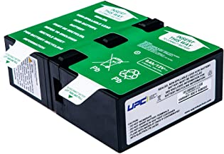APCRBC124-UPC Replacement Battery for APC SMC1000I-2U, SMC1000-2U, BR1500GI, BR1500G-FR, BR1200GI, BR1200G-FR, BR1300G, BX1500G, BR1500G, SMC1000-2UC