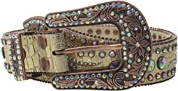Scroll and Concho Belt