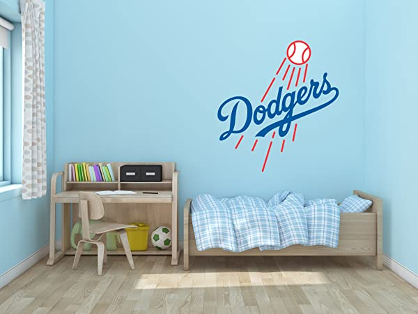Baseball Team Logo Wall Decal Vinyl Sticker For Home Interior Decoration Bedroom Window Mirror Car 30 X 32