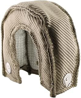 JCP Mesh Lined Titanium Turbo Blanket Heat Shield With Stainless Steel Ties (Standard Mesh, T-25)