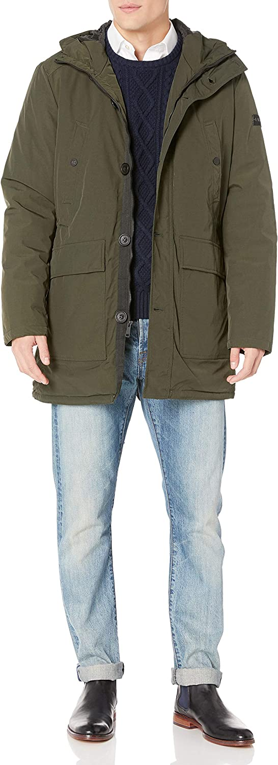 Kenneth Selling rankings Cole New SEAL limited product York Hooded Men's Parka Jacket