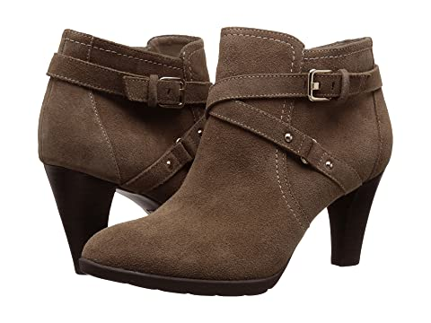 Womens Boots Anne Klein Damina Dark Taupe Suede