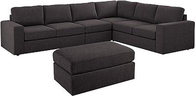 Amazon.com: Jaxx Zipline Convertible Sleeper Sofa & Three ...